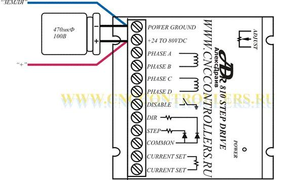 Длина выводов конденсатора не